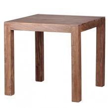 Wohnling Design Esstisch quadratisch Massiv 80 x 80 cm Akazie Massivholz