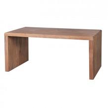 Wohnling Design Natur Akazie Massivholz Schreibtisch 160 x 80 x 76 cm