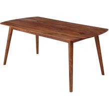 Wohnling Esszimmertisch WL5.570 180x76x90 cm Sheesham Massivholz Tisch