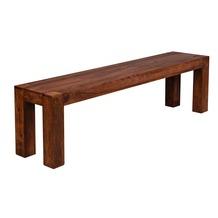 Wohnling Massivholz Esszimmer Sitzbank Bank 160 x 35 cm Sheesham Holz