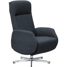 Wohnling Relaxsessel mit Massagefunktion Dunkelgrau Stoff, Ruhesessel Elektrisch Verstellbar, Sessel mit Liegefunktion, Bequemer Entspannungssessel