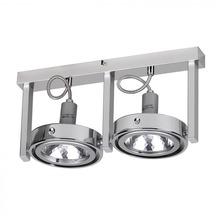 Wohnling Spot-Lampe 2-flammig Deckenleuchte Strahler Spotsystem G9 52W (EEK: C)