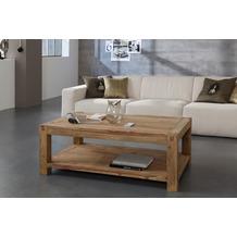 Wolf Möbel Couchtisch Holz 120x80 mit Ablage