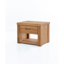 Woodlive Nachtkonsole Timber aus Wildeiche 40x54 cm