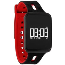 X-Watch Smart Watch KETO X-Watch FIT - Dark Fire schwarz/rot
