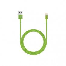 XLayer Kabel Colour Line Lightning Lade/Sync-Kabel 1m Green