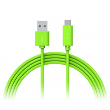 XLayer Kabel Colour Line Typ C (USB-C) to USB 3.0 1m Green