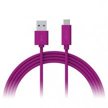 XLayer Kabel Colour Line Typ C (USB-C) to USB 3.0 1m Purple