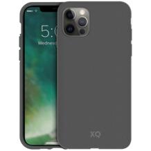 xqisit Eco Flex Anti Bac for iPhone 12 / 12 Pro Mountain Grey