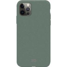 xqisit Eco Flex Anti Bac for iPhone 12 / 12 Pro palm green