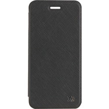xqisit Flap Cover Adour for iPhone 7 black