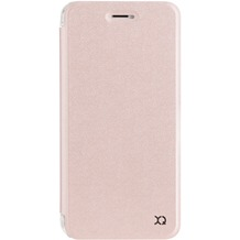 xqisit Flap Cover Adour for iPhone 7 Plus rose gold col.