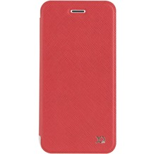 xqisit Flap Cover Adour for iPhone 7 rot