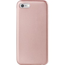 xqisit iPlate Gimone for iPhone 7 rose gold col.