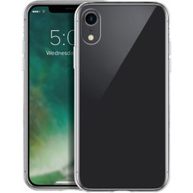xqisit Phantom Glass for iPhone XR clear