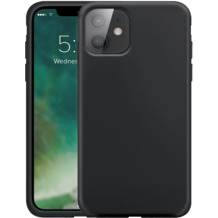 xqisit Silicone Case Anti Bac for iPhone 12 mini black