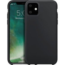 xqisit Silicone for iPhone 11 black