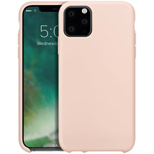 xqisit Silicone for iPhone 11 Pro nude