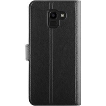 xqisit Slim Wallet Selection for Galaxy J6 (2018) black