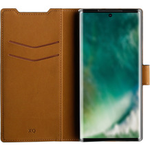 xqisit Slim Wallet Selection for Galaxy Note 10 (6,3), black