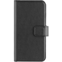 xqisit Slim Wallet Selection for iPhone 7 schwarz