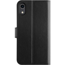 xqisit Slim Wallet Selection for iPhone XR black
