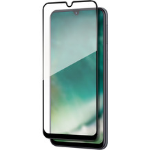 xqisit Tough Glass CF for Galaxy A50 clear