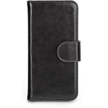 xqisit Wallet Case Eman for iPhone 5/5S/SE schwarz