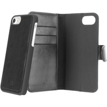 xqisit Wallet Case Eman for iPhone 6/6s/7 schwarz