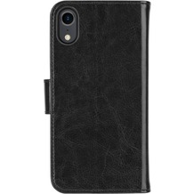 xqisit Wallet Case Eman for iPhone XR black