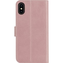 xqisit Wallet case Viskan for iPhone XS Max rose gold col.