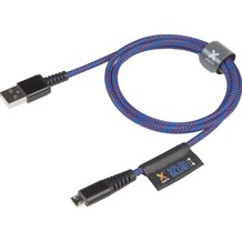 Xtorm Micro USB Kabel, 1 m, Solid Blue