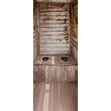 XXLwallpaper Fototapete Outhouse 150 g Vlies Basic 0,91 m x 2,11 m