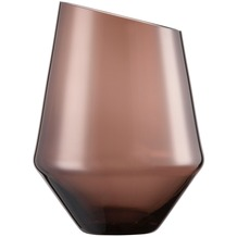 Zwiesel Glas Diamonds Vase/ Windlicht smoky 220