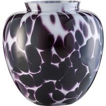 Zwiesel 1872 Splash Vase weiß/ schwarz 268