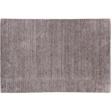 Zaba Gabbeh-Teppich Bergen grau-rot 70 cm x 140 cm