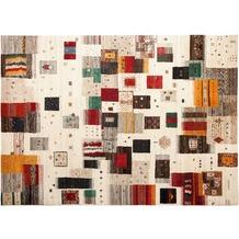 Zaba Gabbeh-Teppich Lorri Fino N-512 mehfarbig 70 x 140 cm