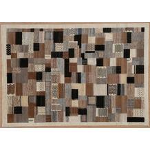 Zaba Gabbeh-Teppich Lorri Nomad Natural/Beige 90 x 160 cm