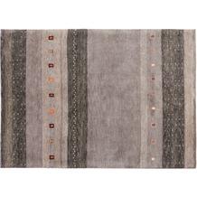Zaba Gabbeh-Teppich Spirit N-2030 grey 40 x 60 cm