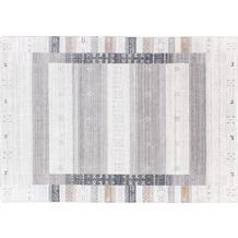 Zaba Loribaft-Teppich Oslo grau 70 cm x 140 cm