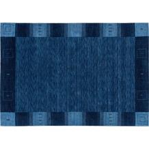 Zaba Loribaft-Teppich Seattle Bordüre blau 70 cm x 140 cm