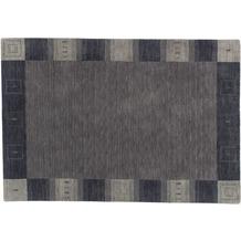 Zaba Loribaft-Teppich Seattle Bordüre grau 70 cm x 140 cm
