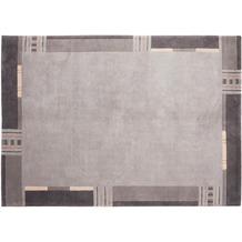 Zaba Nepalteppich Sonali silber 40 x 60 cm