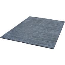 Zaba Gabbeh-Teppich Loras jeans 65 x 130 cm