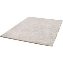 Zaba Fell-Teppich Roger beige 80 cm rund