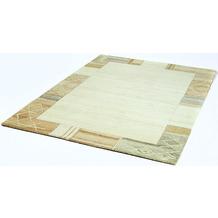 Zaba Nepalteppich Valeria beige/grau 70 x 140 cm
