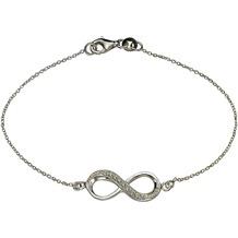 ZEEme Silver Armband 925/- Sterling Silber weiß 7915