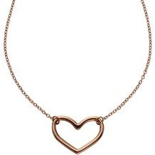 ZEEme Stainless Steel Collier Edelstahl rosévergoldet rosa 8107