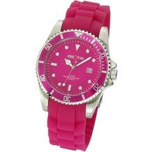 ZEEme Watches Uhr pink Silikon Datumsanzeige  2645