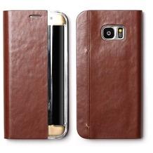Zenus Basic Diary - Samsung Galaxy S7 edge - braun